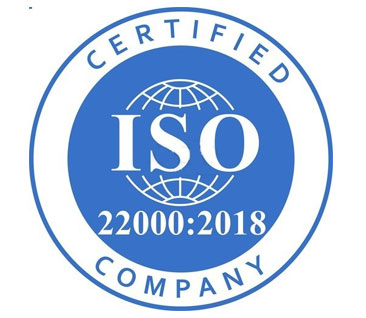 ISO Certificate 22000:2018