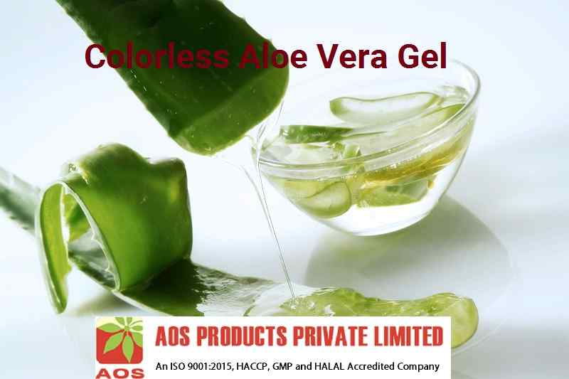 Colorless Aloe Vera Gel